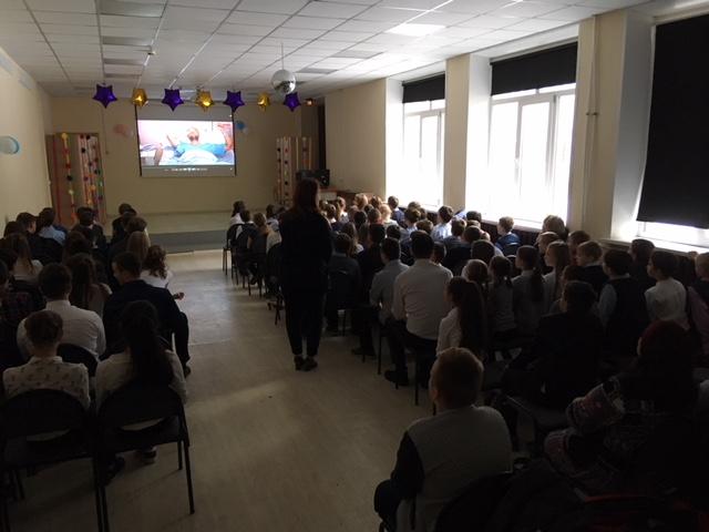 Общее дело в Тимоновской школе Солнечногорского района Московской области