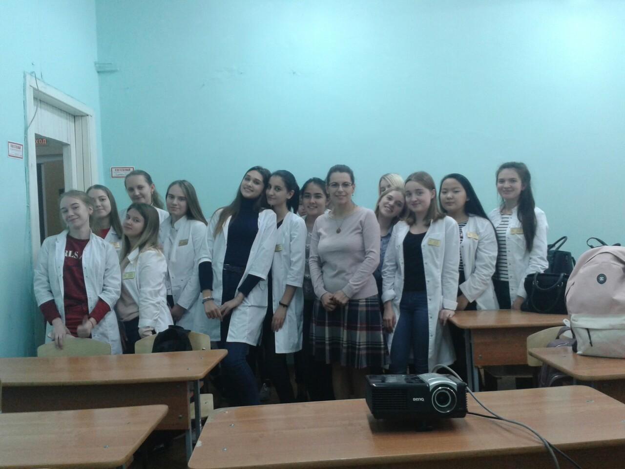 Общее дело в Фармакологическом колледже КрасГМУ города Красноярска