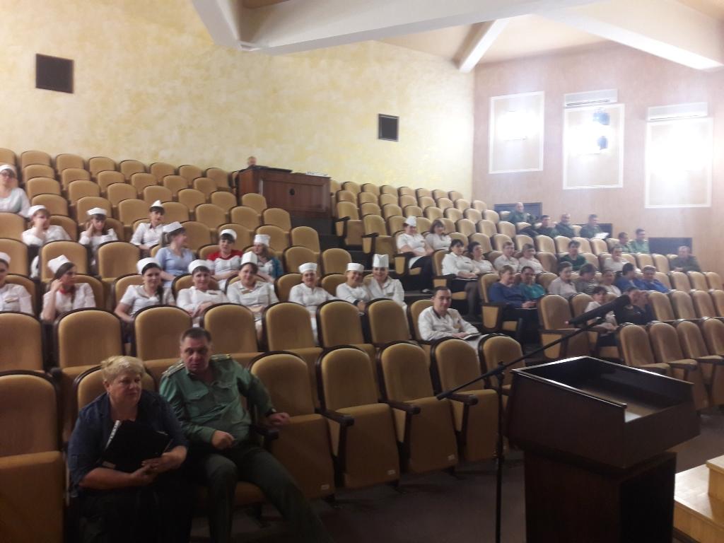 Ставропольское отделение Общего дела провело профилактическое мероприятие в ФКУЗ «Санаторий «Дон» ВНГ в г. Ессентуки