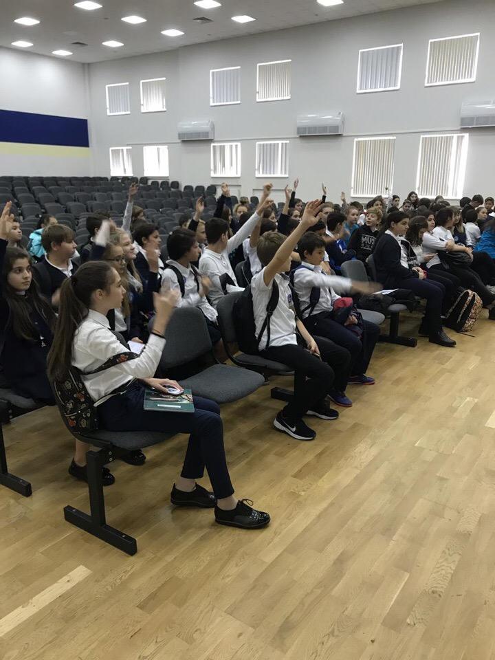 Общее дело в школе №100 города Сочи