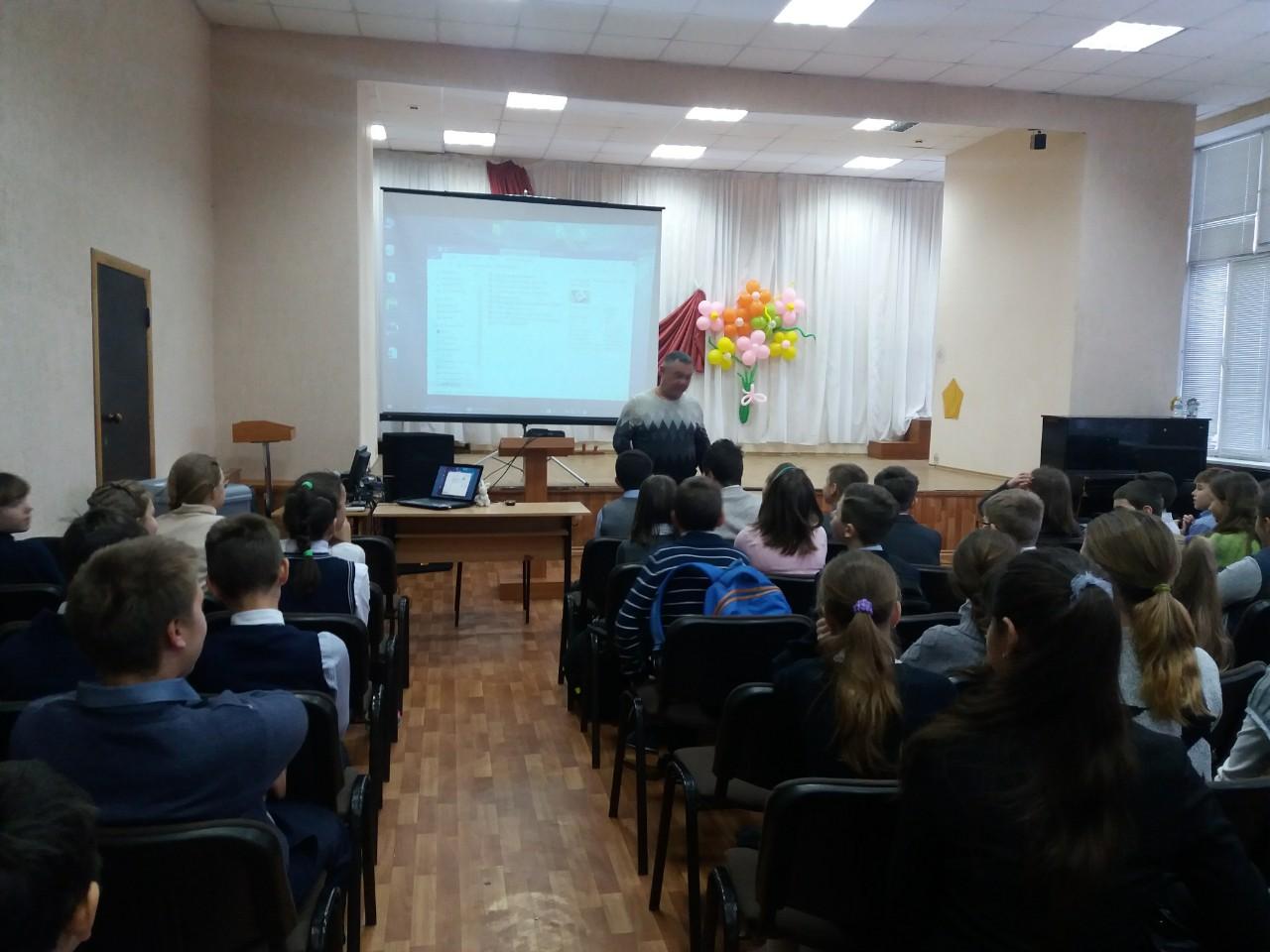 Общее дело в Саратовской школе №100