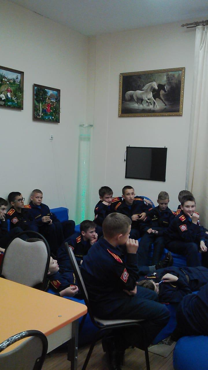 Общее дело в в Аксайском Данилы Ефремова казачьем кадетском корпусе