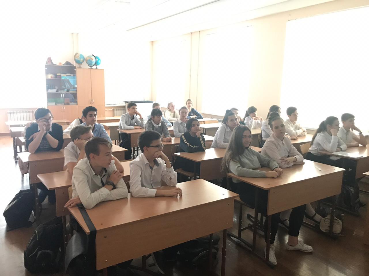 Общее дело в реальной гимназии №62 Ростова-на-Дону