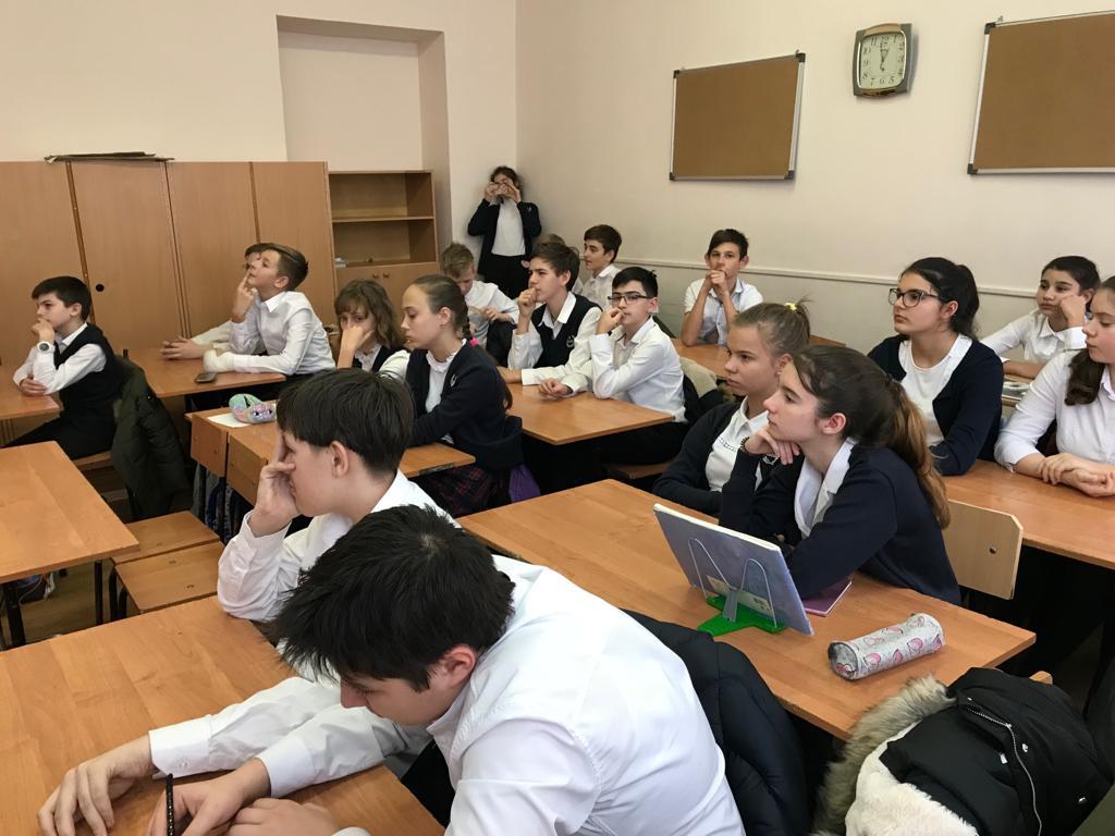 Общее дело в школе №52 Ростова-на-Дону