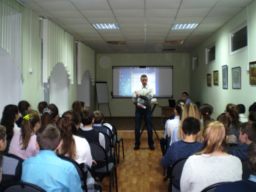 Общее дело в школе №2 города Кохмы Ивановской области