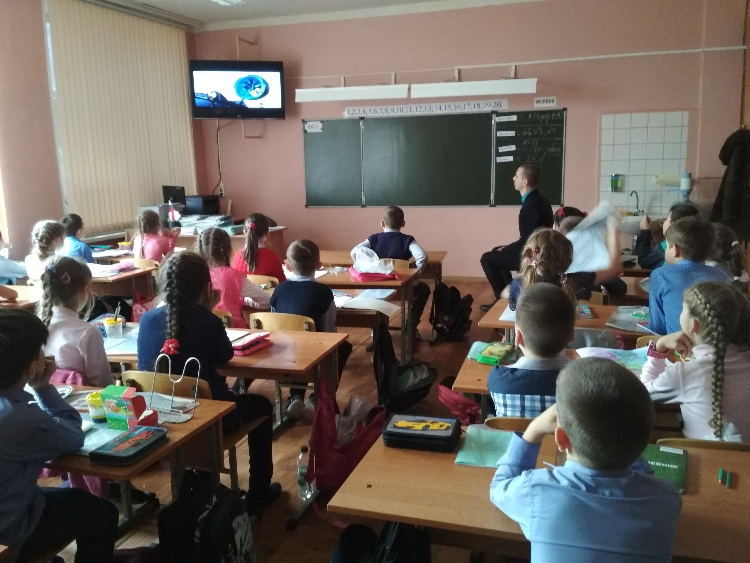 Общее дело в школе №15 поселка Краснооктябрьский Волгоградской области