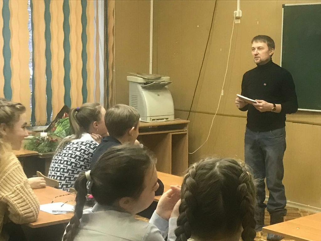 Общее дело в школе-гимназии им. А.Н. Островского в городе Кинешма