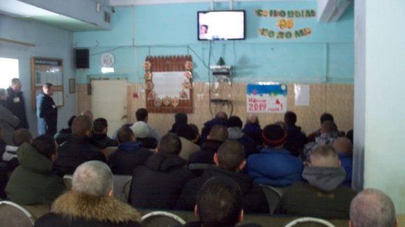 Общее дело в колонии-поселении №2 города Зеленограда Московской области