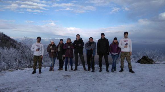Трезвый Новый год — Ставропольское отделение Общего дела совершило восхождение на гору Бештау