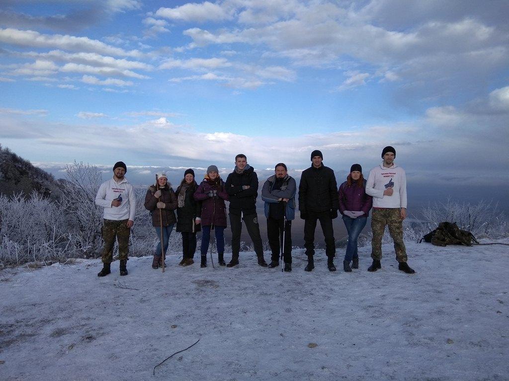Трезвый Новый год - Ставропольское отделение Общего дела совершило восхождение на гору Бештау