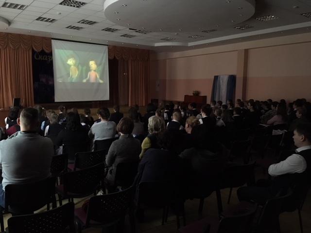 Общее дело в школе Дмитровской №9 Московской области