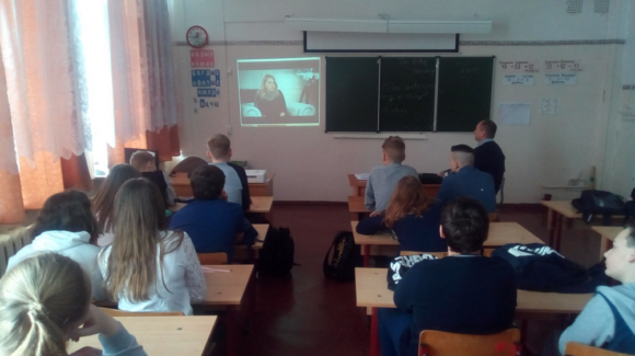 Общее дело в школе №1 посёлка Шуя, республика Карелия