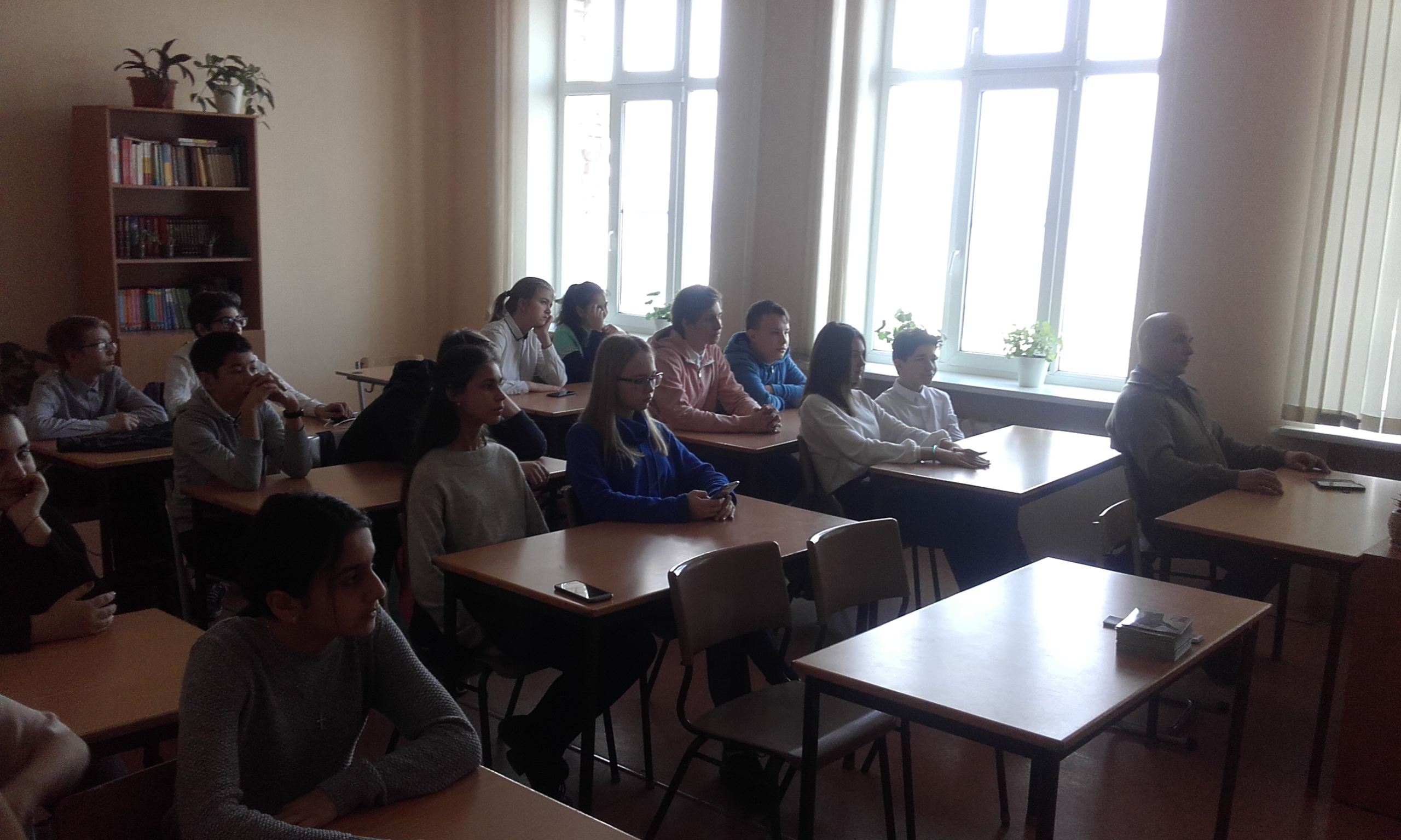 Общее дело в школе №43 города Волгограда