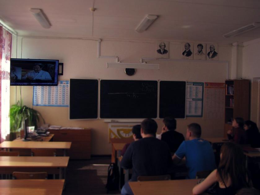 Общее дело в школе №1 поселка Шуя республики Карелия