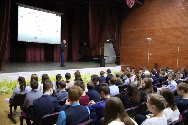 Общее дело в школе №4 имени П.И.Климука, город Щелково Московской области