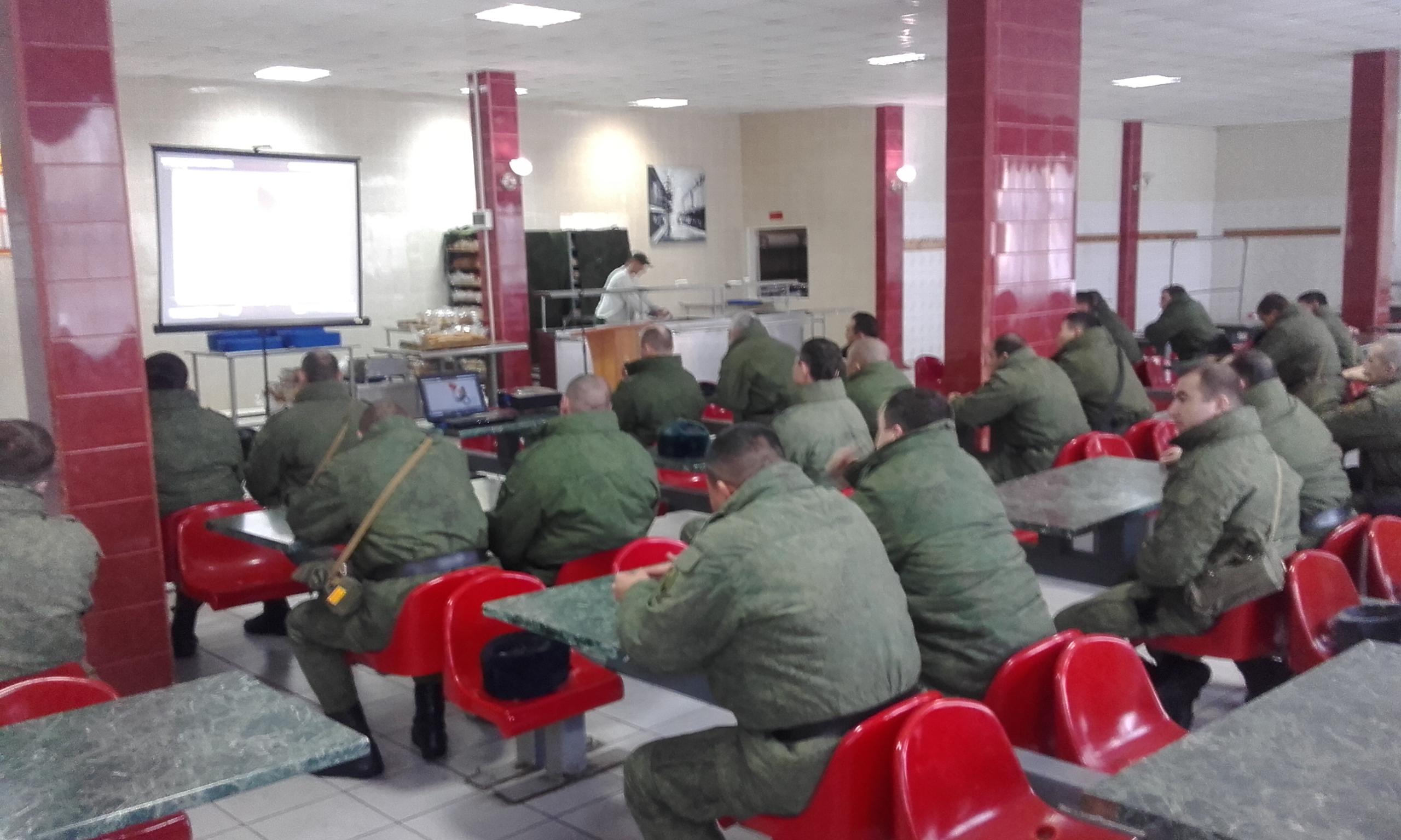 Общее дело для военнослужащих Росгвардии Волгоградской области