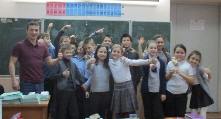 Общее дело в школе №20 города Новочеркасск