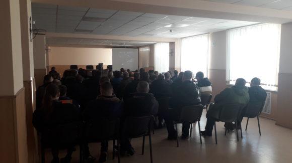 Общее дело на встрече в локомотивном депо ТЧЭ РЖД города Ульяновска