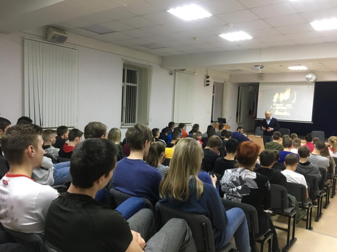 Общее дело в Ростовском областном училище олимпийского резерва