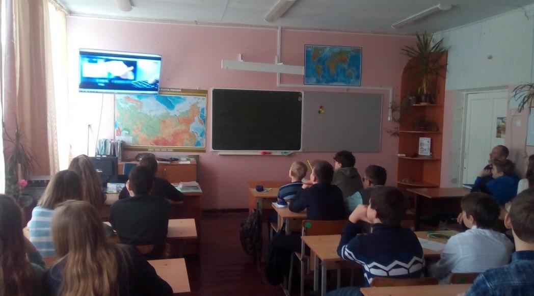 Общее дело в школе №1 поселка Шуя, республика Карелия
