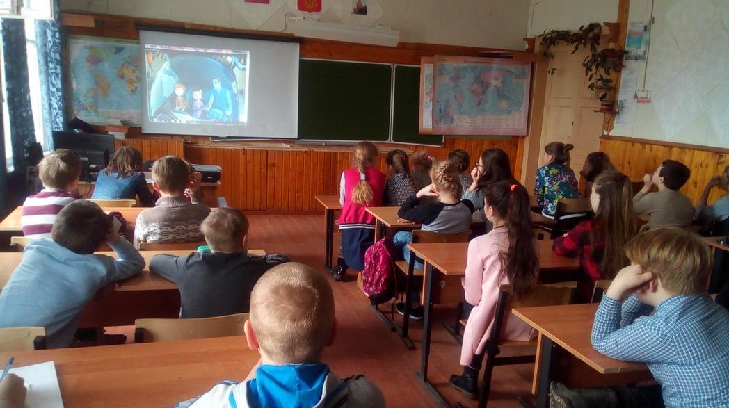 Общее дело в школе №5 посёлка Деревянка республики Карелия