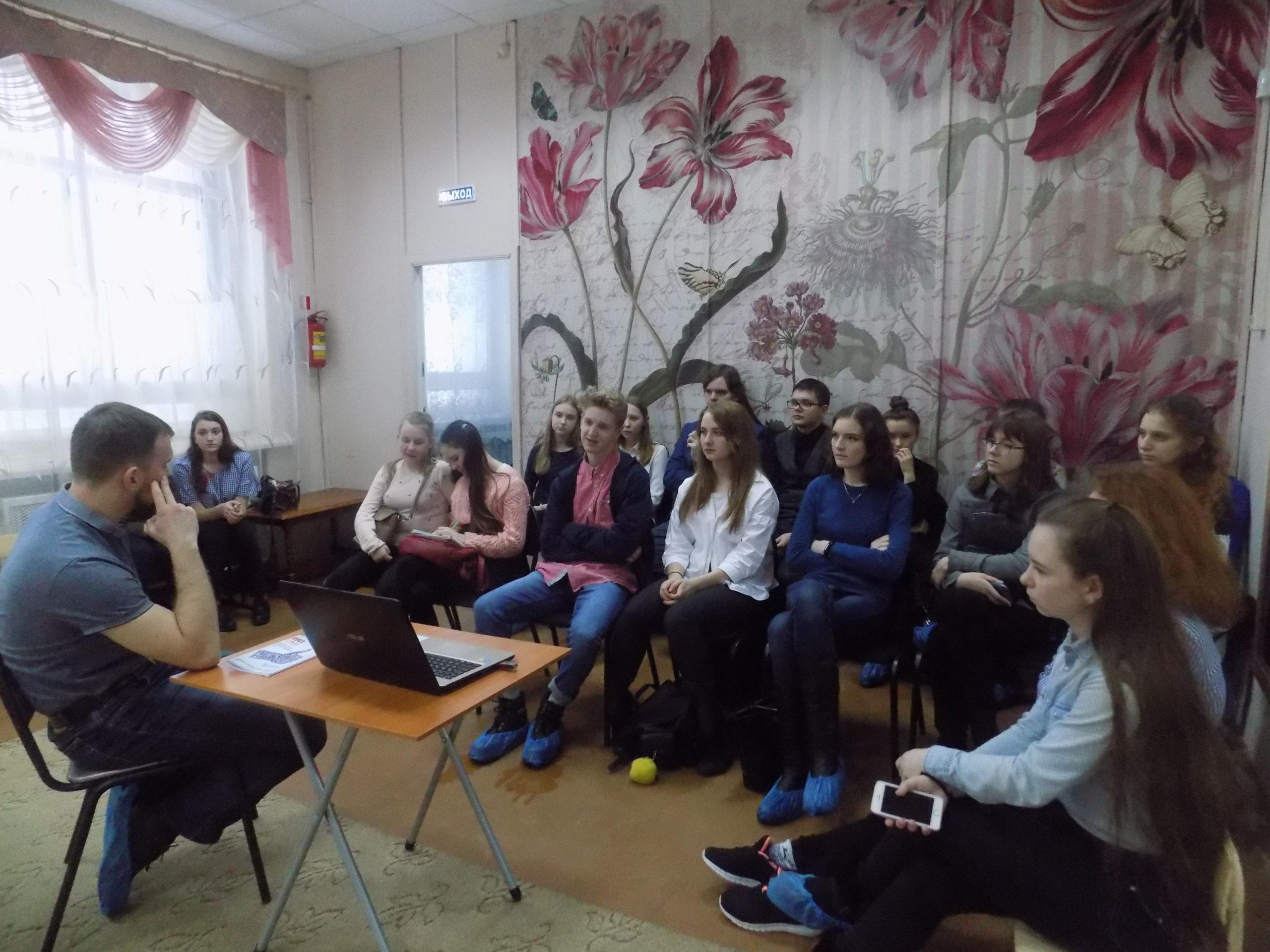 """Общее дело для волонтёров в ДДТ """"Жемчужина"""" города Костромы"""
