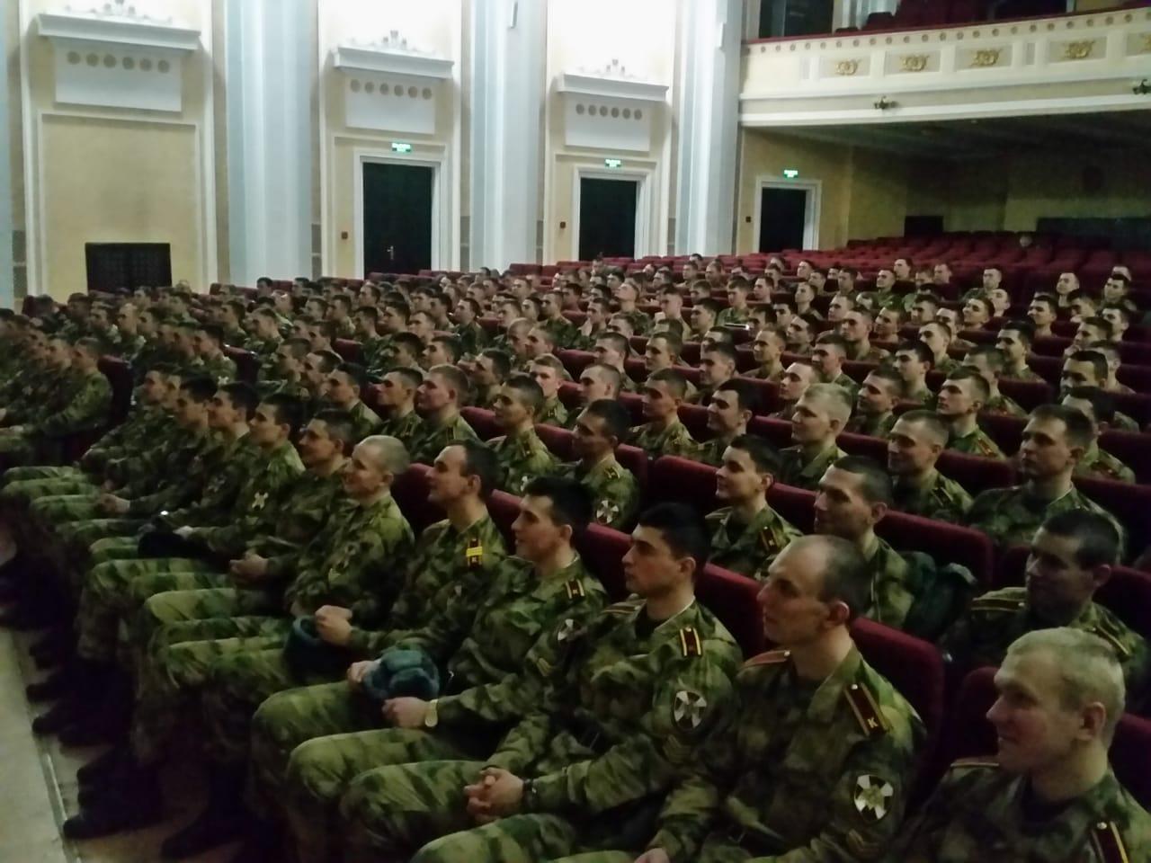 Общее дело в Саратовском военном ордена Жукова Краснознаменном институте войск национальной гвардии Российской Федерации