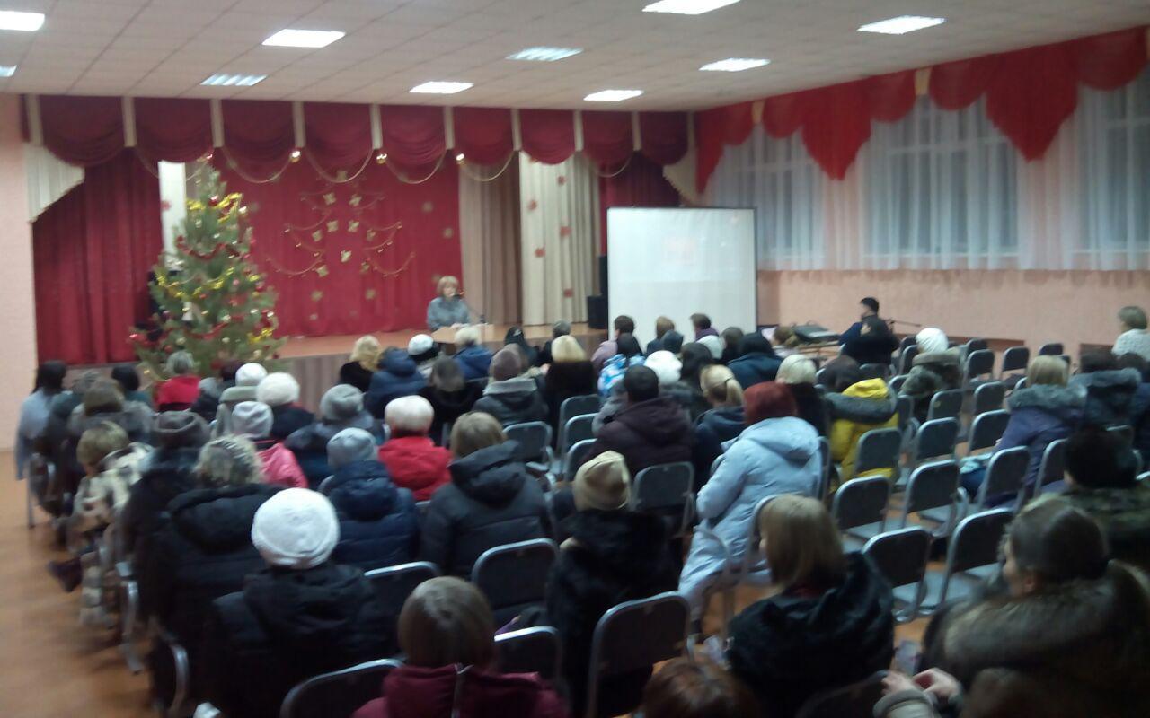 «Общее дело» на родительском собрании в школе № 41 города Омска