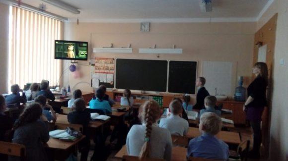 Общее дело в школе №15 поселка Краснооктябрьский, Волгоградская область