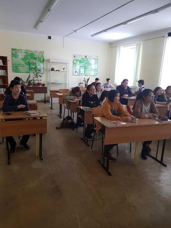 Общее дело в Хатасской школе имени Самсоновых, Якутия