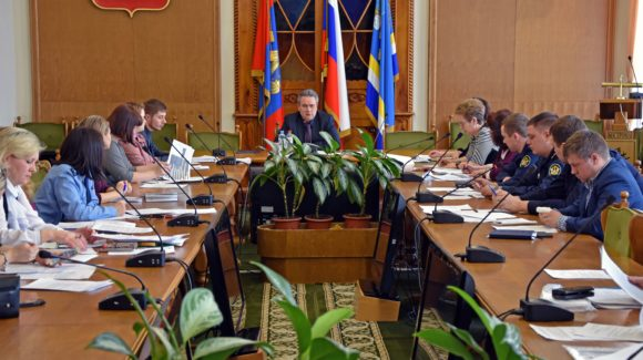 Общее дело на заседании городской антинаркотической комиссии города Костромы