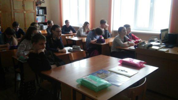 Общее дело в Углянской школе Воронежской области