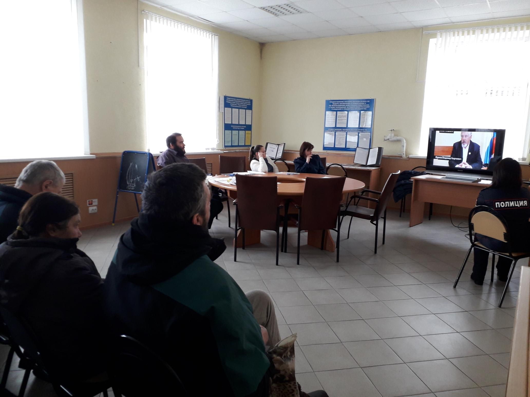 Общее дело на встрече в Уголовно-исполнительной инспекции УФСИН России по Невельскому району Псковской области