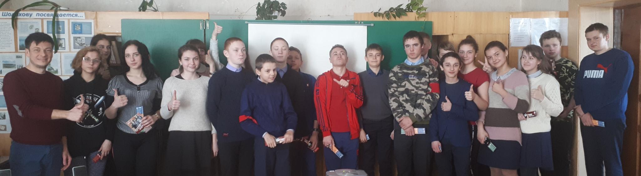 Общее дело в Николовской средней школе Милютинского района