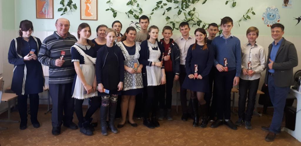 Общее дело в Терновской средней школе Милютинского района