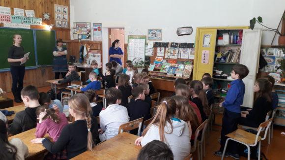 Общее дело в Усть-Долысской школе Псковской области