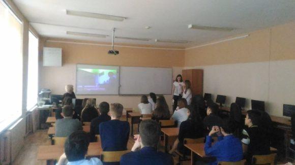 """""""Сверстник сверстнику"""": юные активисты """"Общего дела"""" провели занятия в Костромской школе №6"""