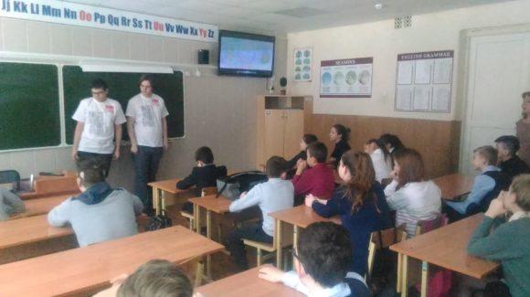 «Сверстник-сверстнику»: юные активисты «Общего дела» провели занятие в школе №31 города Костромы
