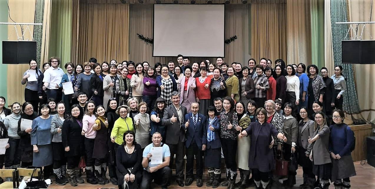Общее дело на семинаре для педагогов в Якутске