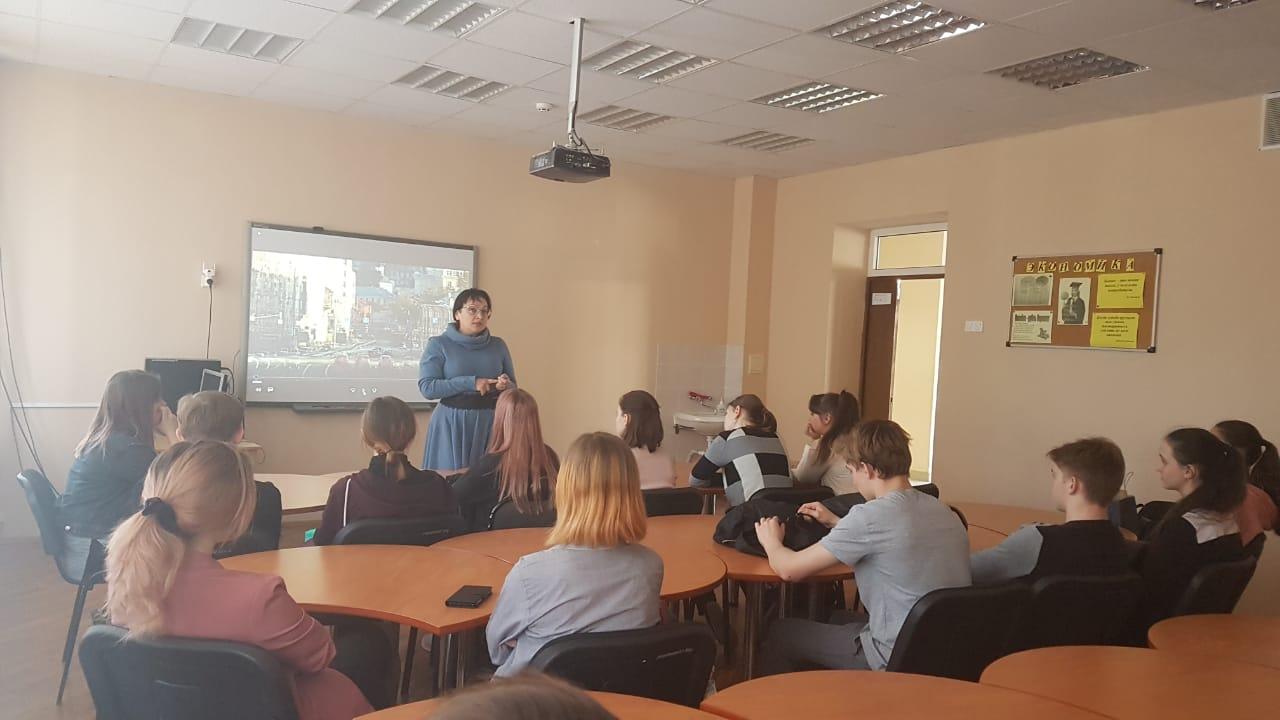 Общее дело в гимназии №71 города Ростов-на-Дону
