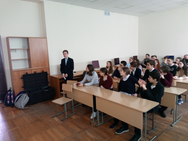 Общее дело в гимназии №25 города Ставрополя