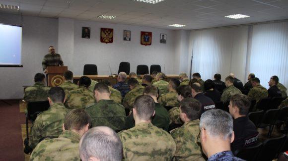 Общее дело в Управлении Росгвардии по Саратовской области