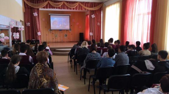Общее дело в Кутузовской школе Солнечногорского района Московской области