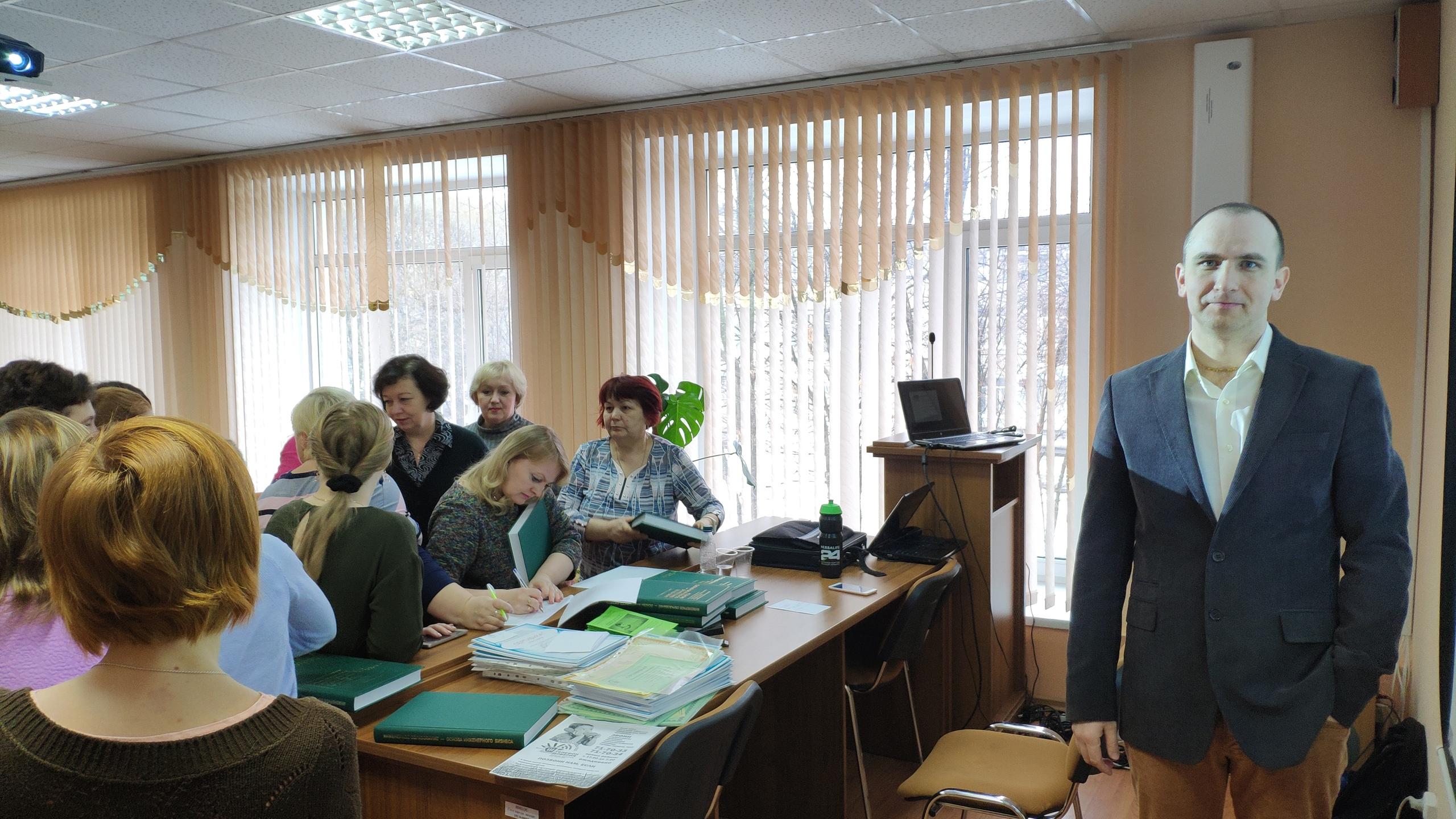 Общее дело на встрече с заместителями директоров школ по воспитательной работе в городе Вологда