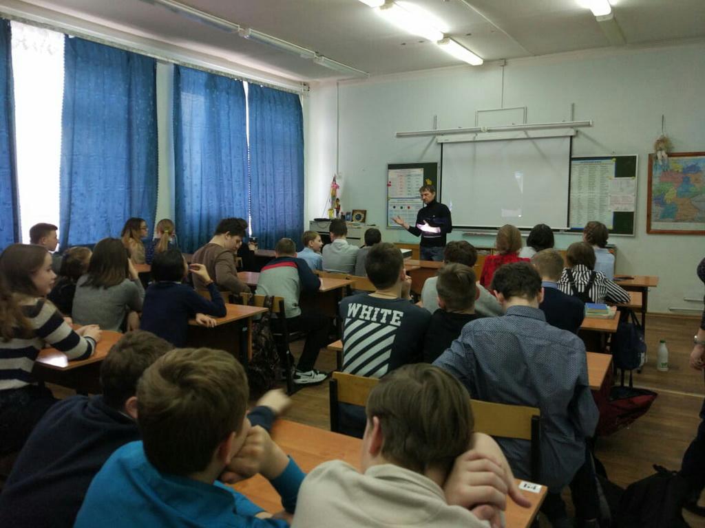Общее дело в школе №2 города Кинешма