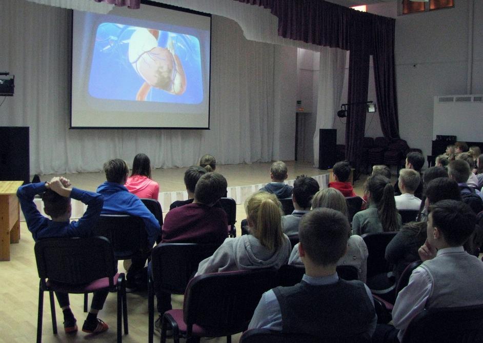 """Общее дело на игре """"Шаги к здоровью"""" в школе №46 города Петрозаводска"""