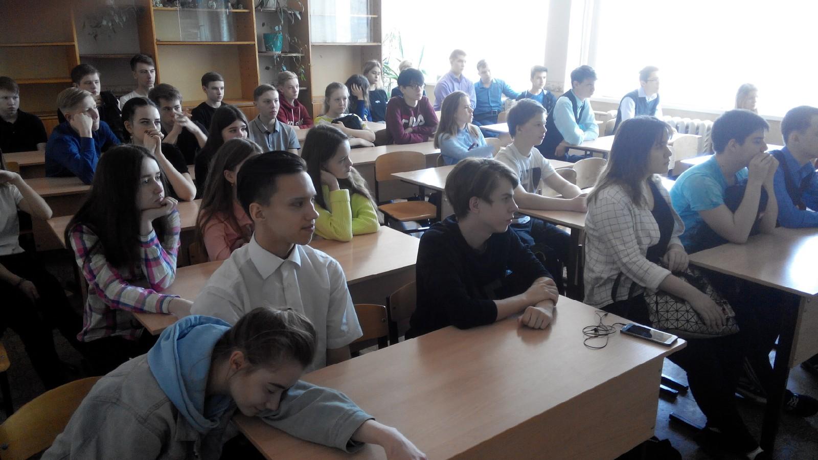 Общее дело в школе №10 города Кирово-Чепецка Кировской области