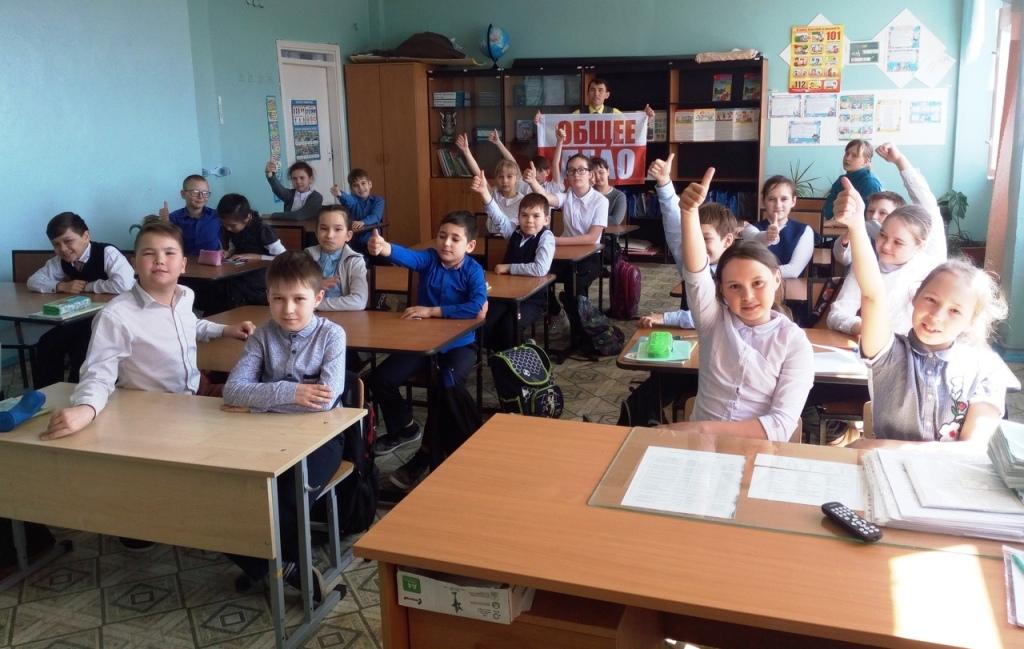 Общее дело в школе №2 города Агидель