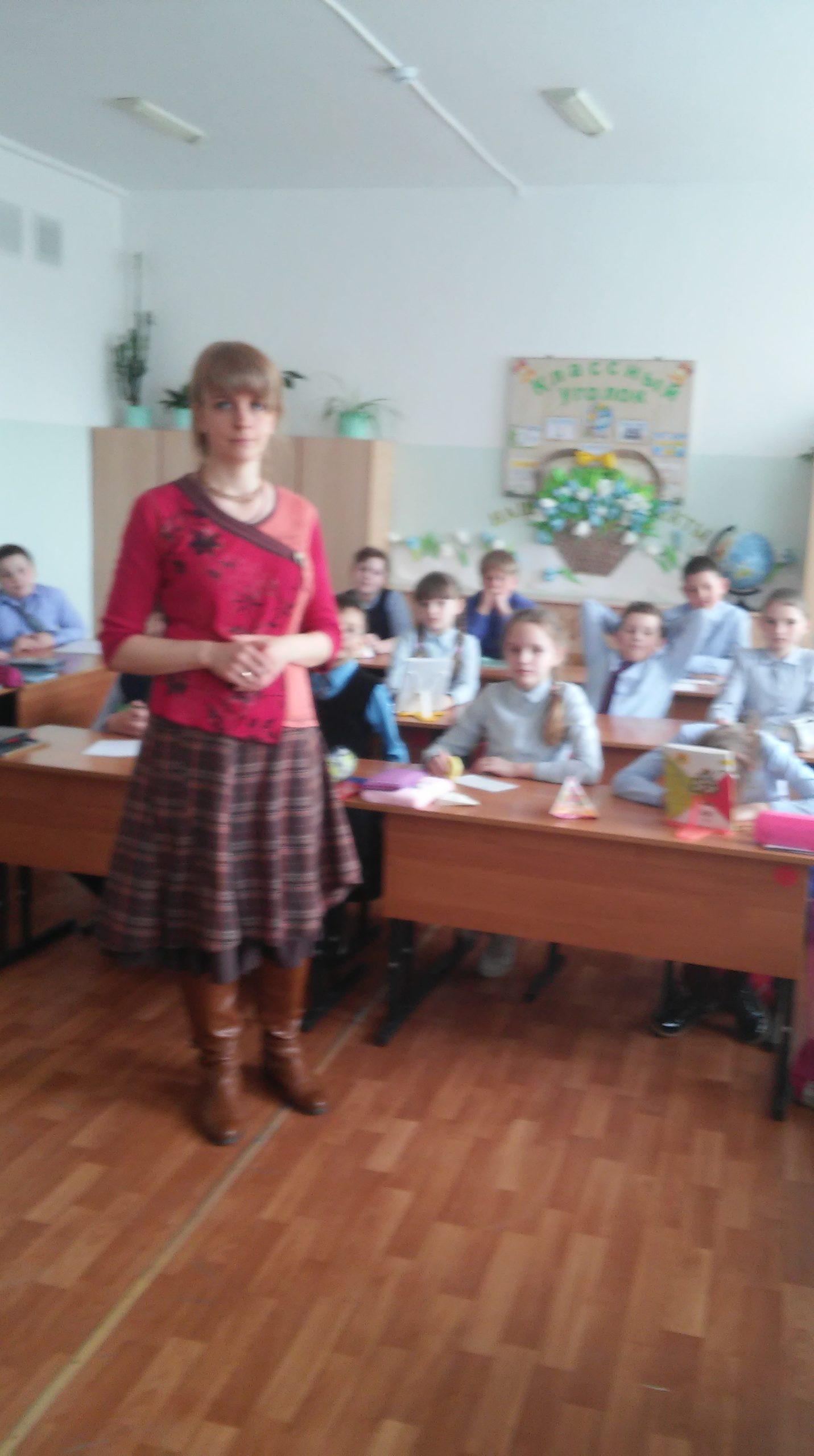 Общее дело в школе села Углянец Воронежской области