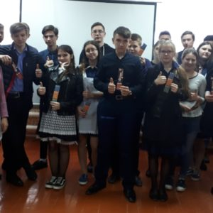 Общее дело в Маньково-Березовской школе Милютинского района Ростовской области